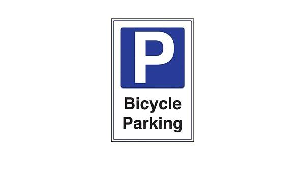 Señal de aparcamiento VSafety para bicicleta, plástico rígido de 2 ...