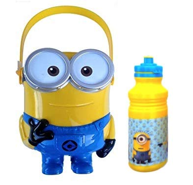 Despicable Me Minions Halloween Trick Treat Candy Bucket for The Big Minion Fans -