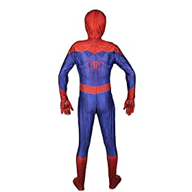 - 41m5POGVAhL - OEM Spider Man Costume Screen Accurate Dye Sublimation Spiderman Faceshell Lens