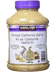 KIRKLAND SIGNATURE Minced California Garlic, 1.36 kg (Pack of 1)