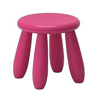 mammut childrens pink stool ikea pink 1