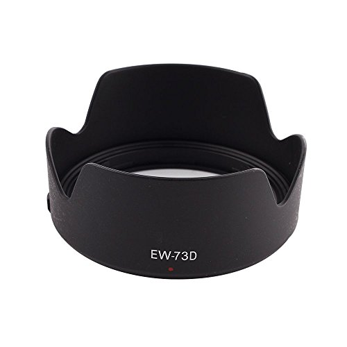 Pixco EW-73B Lens Hood for Canon EF-S 17-85MM F//4-5.6 is USM 18-135MM F//3.5-5.6 is