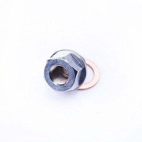 Kinugawa Turbochager Sensor Adapter Oil Water Boost Temp M14 x P1.5mm-1/8 PT ()