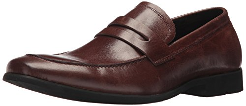 Kenneth Cole Réaction Mens Elekt Brun Mocassin