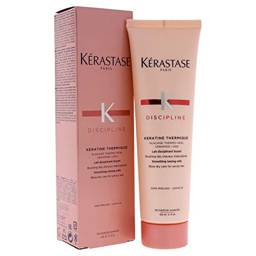 Kerastase Discipline Keratine Thermique Smoothing Taming Milk Anti-Frizz, 5.1 Ounce ()