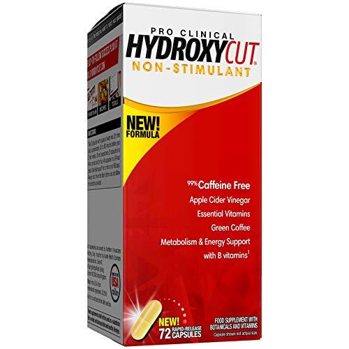 Weight Loss Pills for Women & Men   MuscleTech Hydroxycut Pro Clinical Non-Stimulant   Weight Loss Supplement Pills…