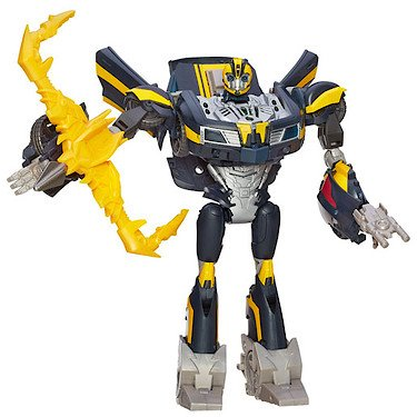 Transformers Prime Beast Hunters Weaponizer Figur - sprechender Bumblebee [UK Import]
