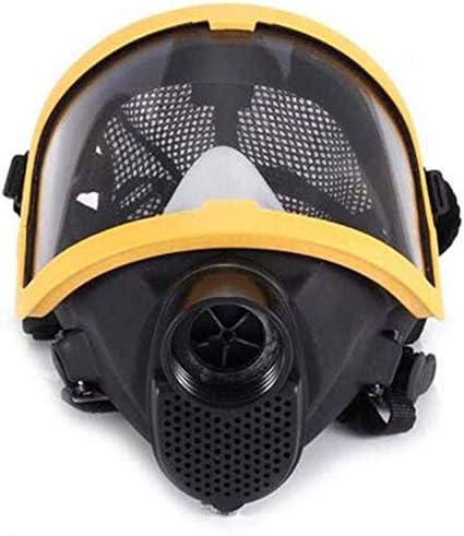 Sooiy Cabeza Máscara Reutilizable de la Cara Llena Envase Individual eléctrica Ventilative Bioquímica de Gas ampliamente Utilizado en Pinturas, Productos químicos, pulimentos, pulverizaciones