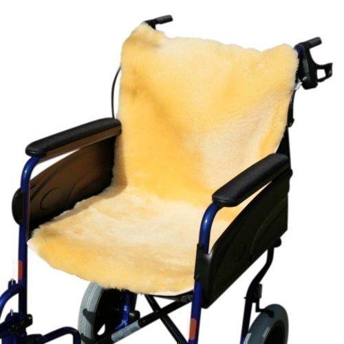 Rollstuhlauflage gold/gelb 86 x 45 cm