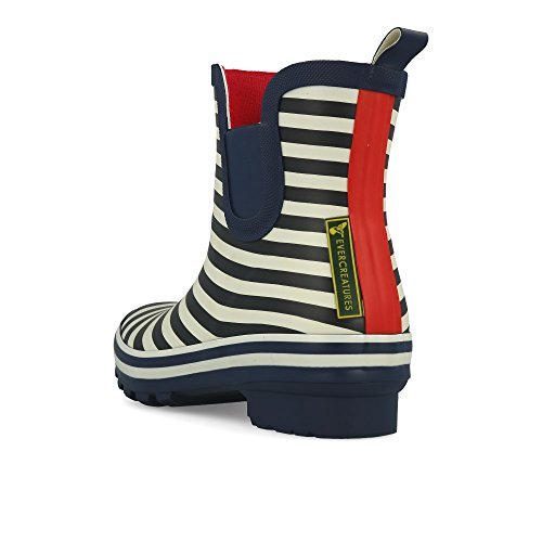 Meadow Bleu Navy Ankle Bristol Evercreatures Booties Stripe Pqnxz67Bw
