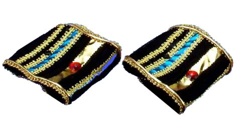 Costume Character Accessory (Forum Novelties Incredible Character Egyptian Costume Wrist Bands Pair)