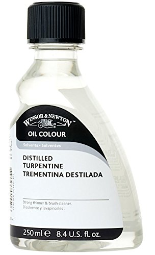 Winsor & Newton Oil & Alkyd Solvents English distilled turpentine 250 ml>