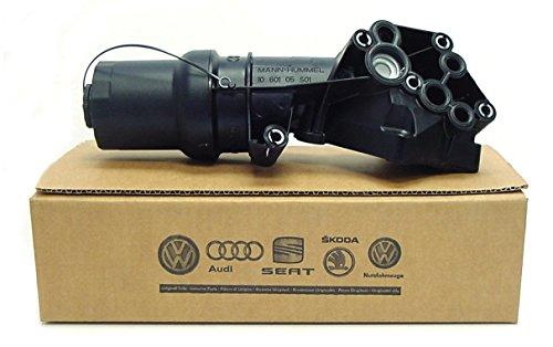 - New Genuine OEM VW Oil Filter Housing 2.5 Jetta Rabbit Golf Beetle 2005-2010 MK5 07K115397D