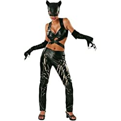 Catwoman Deluxe Adult Costume - Medium