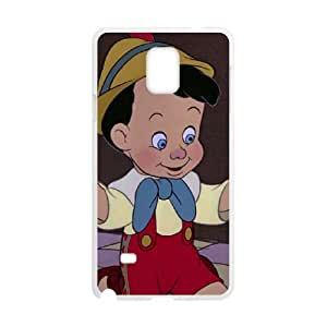 Samsung Galaxy Note 4 Phone Case Cover White Disney Pinocchio Character Pinocchio EUA15992213 Hard Phone Case Cover Hard