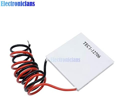 TEC1-12706 40x40MM 12V Pelr Elemente Module Ponis-Limos 10pcs//lot TEC1-12706 TEC1 12706 12V 6A TEC Thermoelectric Cooler Pelr