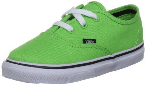 Vans Authentic, Zapatillas Unisex Bebé Verde (Green Flash/Black)