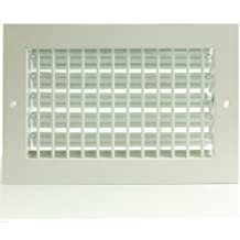 """14"""" x 4"""" ADJUSTABLE DIFFUSER - Vent Duct Cover - Grille Register - Sidewall or Cieling - High Airflow"""