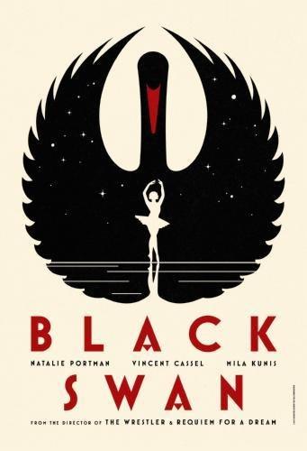 (11x17) Black Swan- Natalie Portman Bird and Dancer Movie (Swan Dancer)