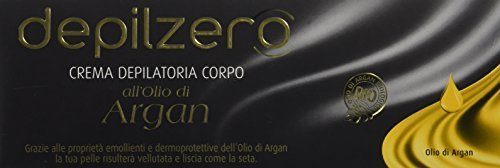 Amazon.com : crema depilatoria corpo all olio di argan 150 ml by DEPILZERO : Beauty