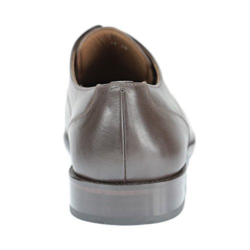 38ef788271ab38 ... SALE - MANZ - Herren Business Schuhe - Braun Schuhe in Übergrößen ...