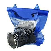 SODIAL(R) DSLR SLR Camera Waterproof Underwater Housing Case Pouch Bag for Canon Nikon New
