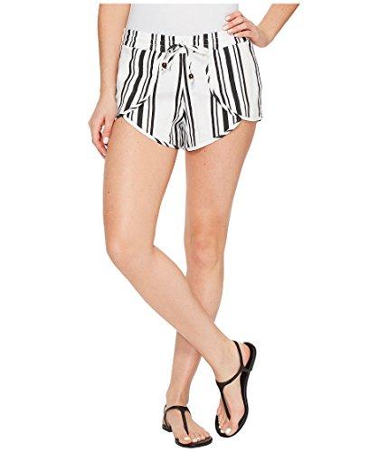 リビジョンおとなしい掃除[プラッシュ] Plush レディース Soleil Striped Linen Tulip Shorts パンツ [並行輸入品]