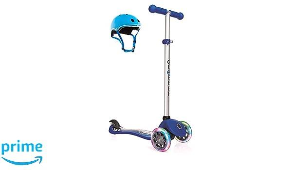 Globber niño Primo Fantasía Luces Racing Scooter - Azul ...
