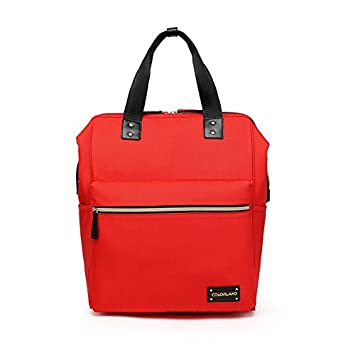 351926f81d7 Amazon.com : Colorland Zara Unisex Baby Diaper school Backpack (Red) : Baby