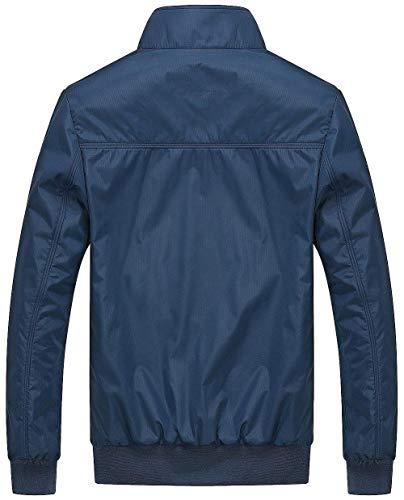 Parka Hx Bomber Fashion Leggera Abiti Taglie Uomo Comode Inverno Blau Giacca Air Force Autunno Classica Da AgURqxAw