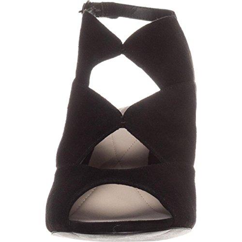 Alfani A35 Nayaa Dress Sandals - Black Suede PeRUnZBP