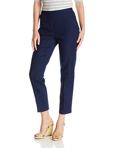 Alfred Dunner Womens Stretch Med Pant