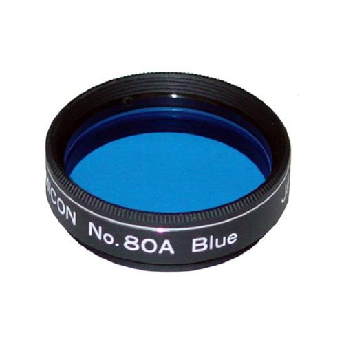 Lumicon Color / Planetary Filter #80A Blue - 1.25'' # LF1070 by LUMICON