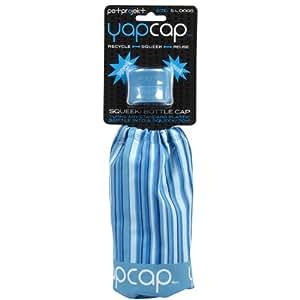 petprojekt Yap Cap Squeeki Bottle Cap Dog Toy, Blue