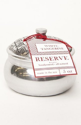 Aspen Bay Reserve Silver Tin Candle - White Tangerine by Aspen Bay