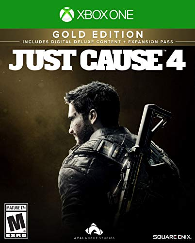 Just Cause 4 -  Xbox One Gold - Pattern Handled