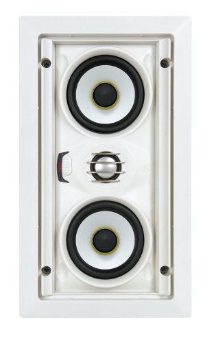 "SpeakerCraft AIM LCR3 Three Dual 3"" 2-Way In-Wall Speaker (Each) ASM74331"