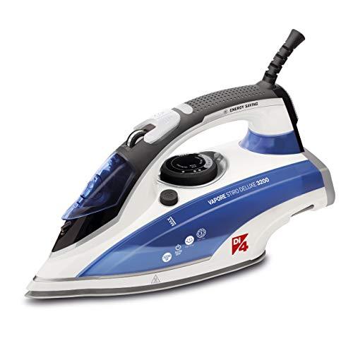 Di4-Vapore-Stiro-Deluxe-3200-Plancha-de-vapor-3200W-Golpe-de-vapor-max-220gr-55-grmin-Vapor-continuo