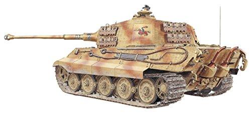 Dragon Models SD.KFZ.182 Kingtiger Henschel Production Model Kit (1/35 Scale) - German King Tiger Production Turret