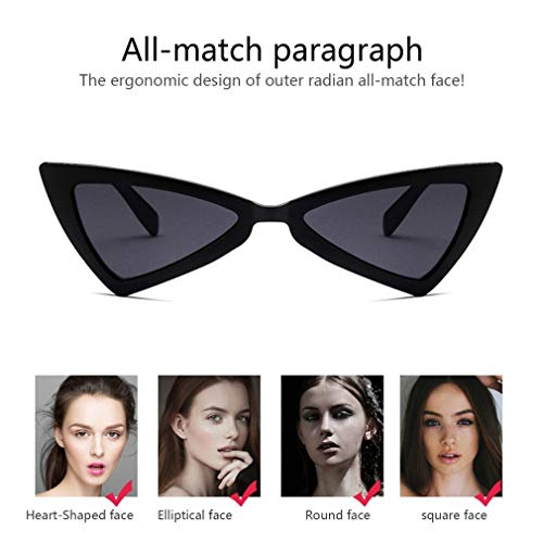 Sunglasses Travel Glasses Eye Triangle Women Lens UV400 Eyewear Sunglasses Cat BPYq1w