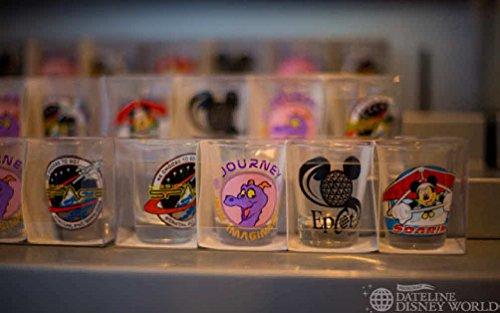 NEW! Disneyworld Epcot Shot Glass Set- Glasses Included: Dis