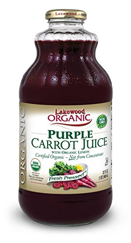 Lakewood Organic Pure Juice, Purple Carrot, 32 (Purple Carrot Juice)