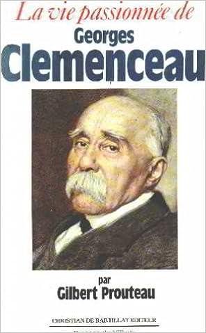 Couverture de Vie passionnee g.clemenceau