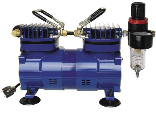 Paasche DA400R 1/4 HP Compressor with Regulator and Moisture Trap by Paasche Airbrush