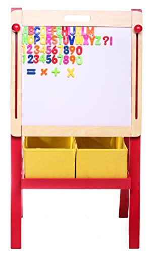 3-in-1-adjustable-art-easel-w-magnetic-whiteboard-blackboard-dual-storage-bins-and-magnetic-letters-