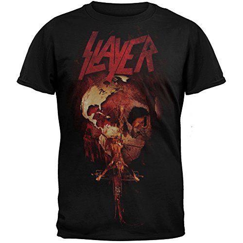 Slayer - Mens Globe T-Shirt