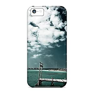 LJF phone case New Fashion Premium Tpu Case Cover For ipod touch 5 - A Lonely Path