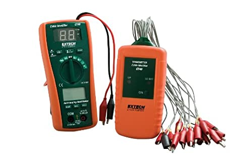 Extech CT40 Cable Identifier/Tester Kit - Check Cable Analyzer