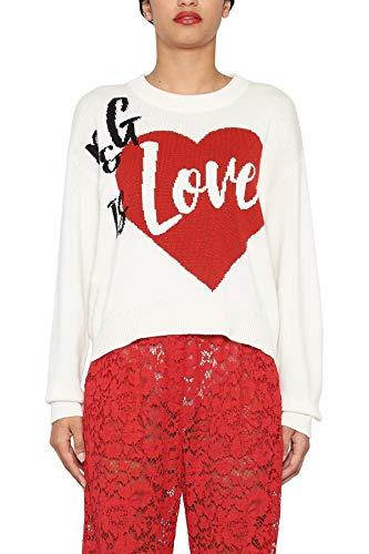 (Dolce e Gabbana Women's Fx364tjawlis9000 White Cashmere)