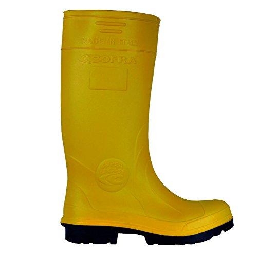 """Cofra 00010–048.w44taglia 44S5CI SRC """"New Castor Scarpe di sicurezza, colore: giallo"""
